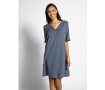 Kleid blaugrau