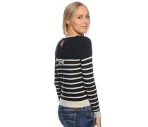 Pullover, schwarz/beige, Damen
