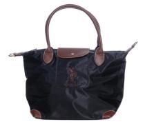 Tasche, schwarz/braun, Damen