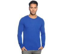Pullover mit Kaschmir, Blau, Herren
