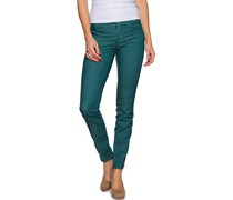 Jeggings, petrol, Damen