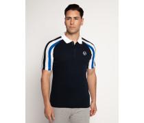 Poloshirt Slim Fit navy/weiß