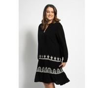Kleid (größe Größen) schwarz