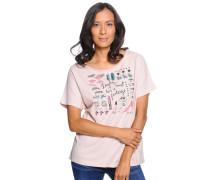 T-Shirt, Rosa, Damen