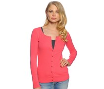 Strickjacke, pink, Damen