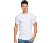 T-Shirt, weiß, Herren