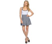 Kleid, weiß/schwarz, Damen