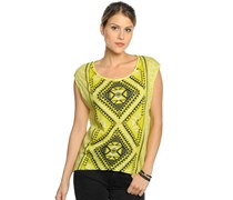 Allison Shirt, lime, Damen