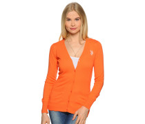 Cardigan, orange, Damen