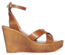 Wedges, cognac, Damen