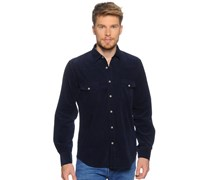 Hemd Regular Fit, navy, Herren