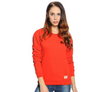 Sweatshirt, rot, Damen