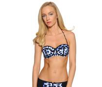 Bikinioberteil, Blau, Damen