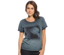 T-Shirt, graublau, Damen
