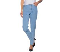 Pcmom Dale Jeans LBLD, Blau, Damen