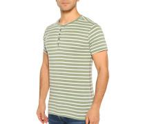 T-Shirt grün/weiß