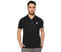 Poloshirt, schwarz, Herren