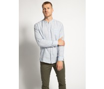 Langarm Hemd Regular Fit hellblau/weiß