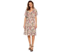 Kleid offwhite/rosa