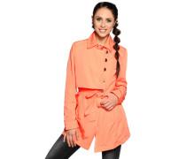 Trenchcoat, Orange, Unisex