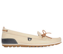 Mokassins, beige, Damen