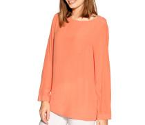 Langarm Blusenshirt orange