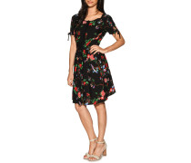 Kleid schwarz/multi