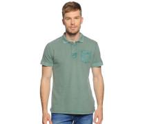 Poloshirt, grün, Herren