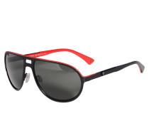 Sonnenbrille, schwarz, Herren