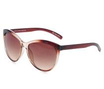 Sonnenbrille, braun, Damen
