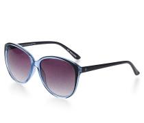 Sonnenbrille, blau, Damen