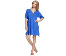 Strandkleid, blau, Damen