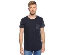 T-Shirt, navy, Herren