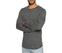Pullover schwarz meliert
