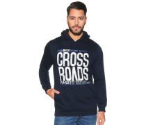 Sweatshirt mit Frontprint, Blau, Herren