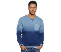 Sweatshirt, hellblau/navy, Herren