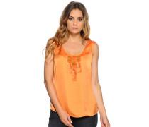 Top, Orange, Damen