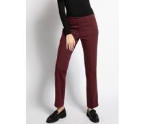 Jeans Tina bordeaux