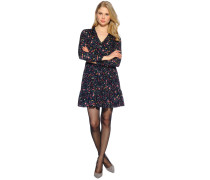 Kleid, navy/multi, Damen