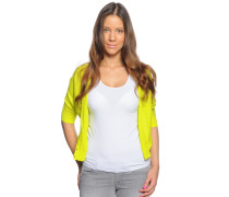 Strickjacke, lime, Damen