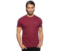 T-Shirt, bordeaux, Herren