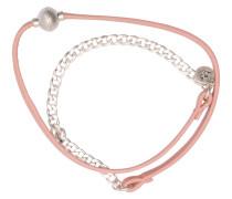 Armband, rosa/silber, Damen