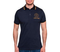 Kurzarm Poloshirt Regular Fit navy