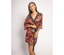 Kimono rost/schwarz