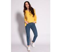 Jeans Retro Skinny blau