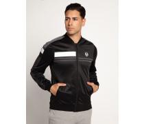 Trainingsjacke schwarz/grau