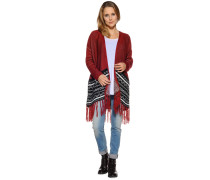 Strickjacke, bordeaux, Damen