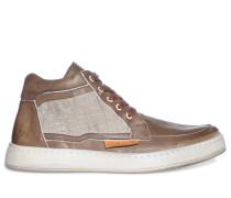 Sneaker, braun/beige, Herren