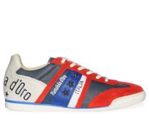 Sneaker, rot/multi, Herren