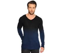 Pullover, schwarz/navy, Herren